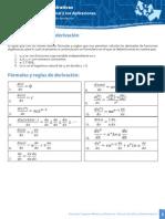 Reglas y Formulas de Derivacion