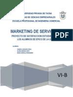 Proyecto de Marketing de Servicios