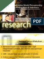 Presentasi Jurnal Dalam Model Perceptorship
