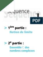 01 - Notion de Limites - Ensemble Des Nombres Complexes