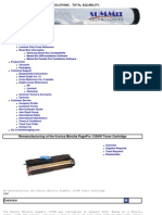 Minolta PagePro 1350W Toner Summit Web