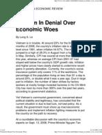Vietnam in Denial Over Econ..