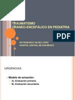 13622705 Traumatismo Craneoencefalico en Pediatria