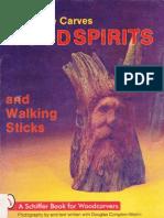 Tallado de espíritus de madera