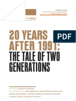 20 Years After 1991-The Tale of Two Generations