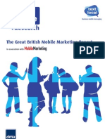Textlocal British Mobile Marketing Report 2012