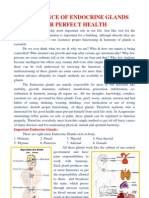 Importance of Endocrine Glands for Perfect Health