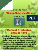 Skills for Medical Studetns