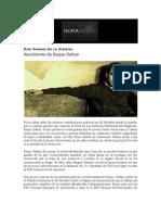 Nueva Sintesis-13 de Mayo, 2012-Nacimiento de Roque Dalton