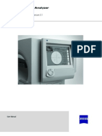 Humphrey Field Analyzer Manual (5.1, for Series II instruments)
