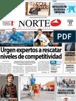 Periodico Norte de Ciudad Juárez 11 de Noviembre de 2012