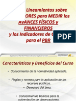 Avance Fsico Financiero