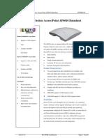 Huawei WLAN AP6010 Datasheet(31-May-2012)