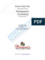Management accounting questions