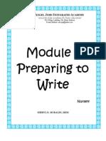 Module 1 Nursery Level