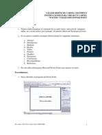 Instrucciones Para Crear Un Cartel
