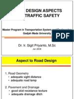 Road Design Aspect