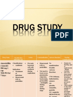 Drug Study and Ncp