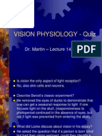 Visionphysiology Quiz