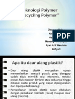 daur ulang plastik ppt