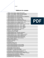 subiecte fiziopatologie medicina generala
