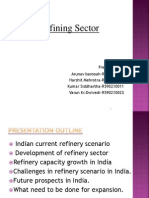 Indian Refinery Scenario