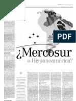 Papel Literario Mercosur o Hispanoamérica