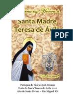 Novena Santa Teresa