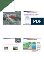 Reservoir Induced Seismicity MBA-DM