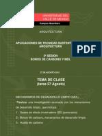 2ª sesion BONOS DE CARBONO Y MDL