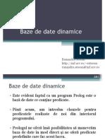 Baze de Date Dinamice in Prolog