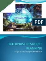 Enterprise Resource Planning- Oracle