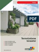 termoizolarea teraselor de la austrotherm
