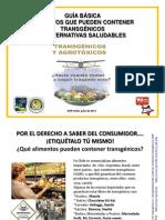 Guia Alimentos OGM y Alternativas Julio 2012 Chile2