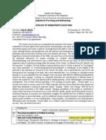 Sociology of Human Rights Syllabus 12-13