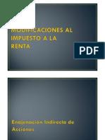 Modificaciones Tributarias 2012 - Julio Raggio