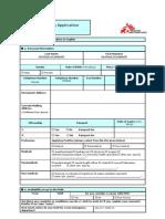 Field Volunteering Application Form