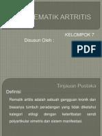 ppt rematik artritis