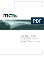 Top 10 Things Your Ceo Should Know About Service