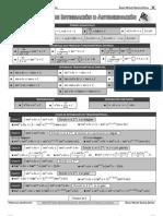 UNAH CURC - MM202 - Fórmulas de integración