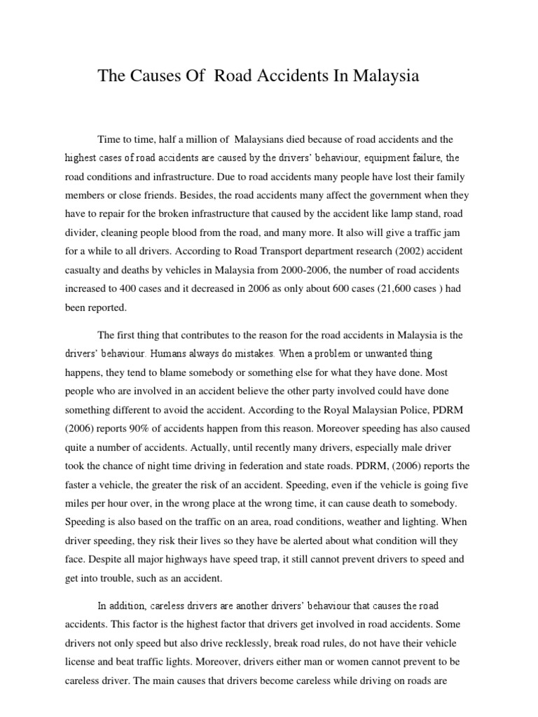 car accident essay co car accident essay