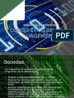 Código ético de el ingeniero