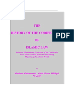 The History of the Codification of Islamic Law