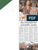 Science at Pub