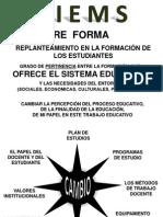 REFORMA DE LA EDUCACIÓN MEDIA SUPERIOR