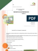 Proyecto de Intervencion Modelo