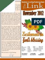 November 2012 LINK Newsletter