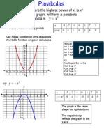 parabolas.ppt