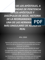 Ponencia de los Apóstoles en el Congreso a Paco Martín