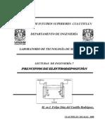 Principios de Electrolisis